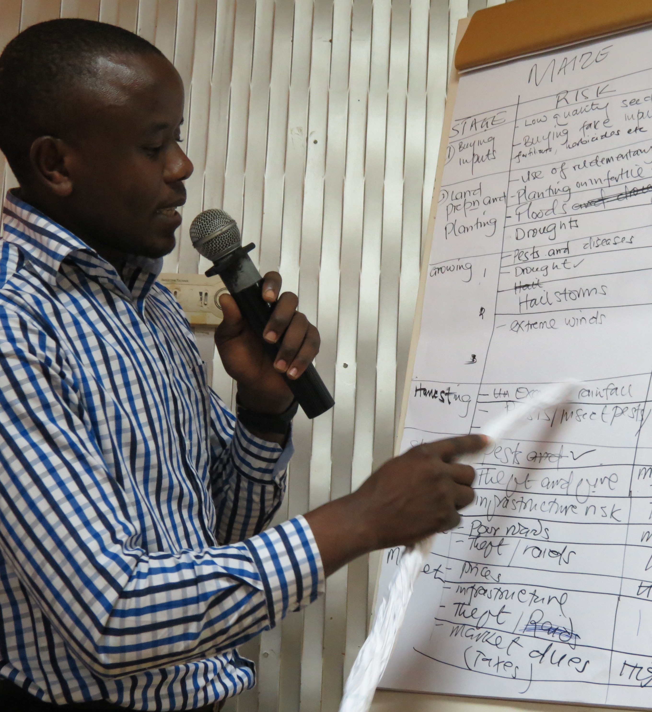 Agricultural Risk Management at the centre of the discussions in Uganda