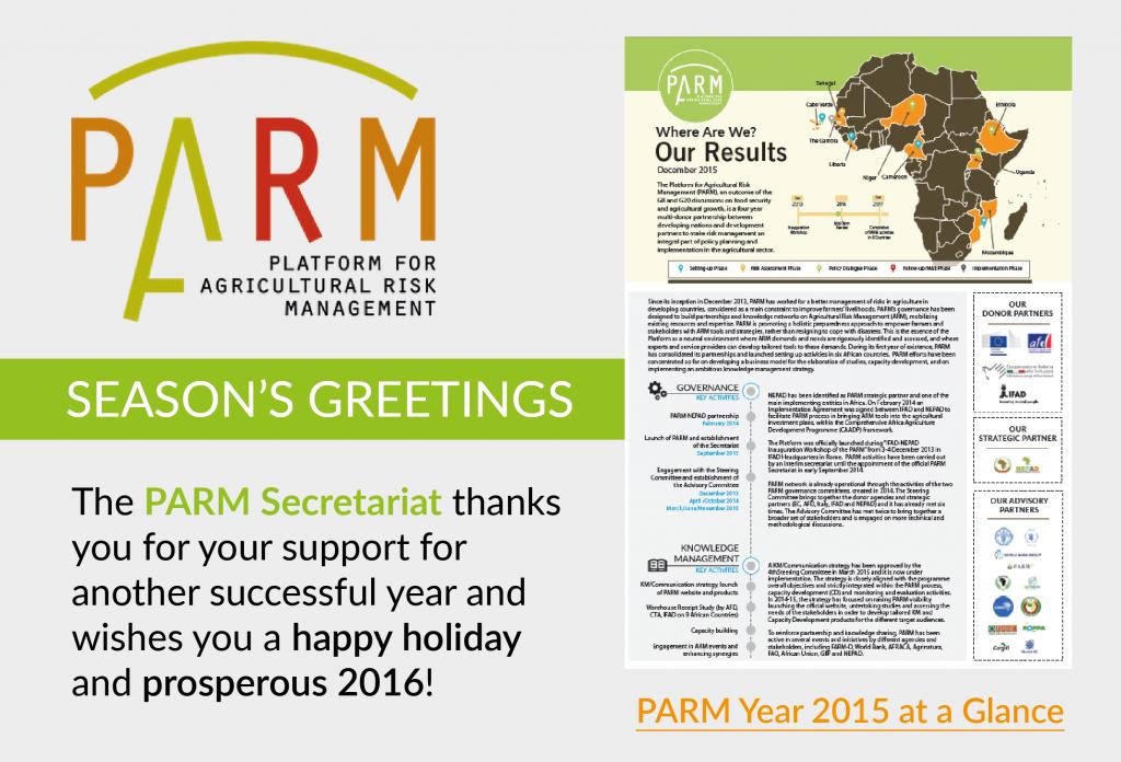 Seasons greetings 2015