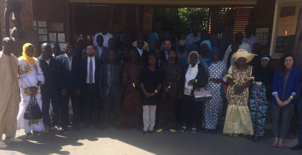 Participants in the Capacity Development Seminar  held in Saly, Senegal on 31 March- 1 April 2016.